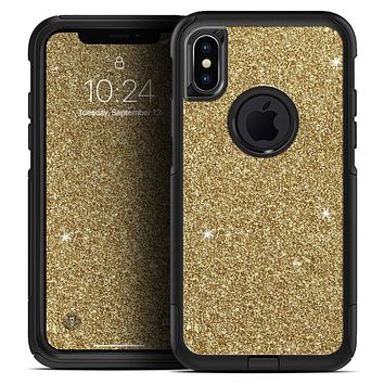 Sparkling Gold Ultra Metallic Glitter - Skin Kit for the iPhone OtterBox Cases