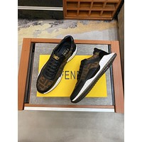 FENDI2021Men Fashion Boots fashionable Casual leather Breathable Sneakers Running Shoes08050cx