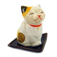The Kitten hand crafted incense holder