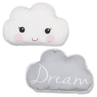 2016 Baby White Cloud Style Stuffed Toys Pillow Kids Room Bed Sofa Decorative  Dream Cloud Cushion Children's Best Gift