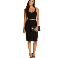Sale-promo- Black Sweet Stuff Pencil Skirt