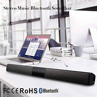 ELE ELEOPTION 20W Wireless Column Bluetooth Speaker TV Soundbar Stereo Home Theater Sound ...