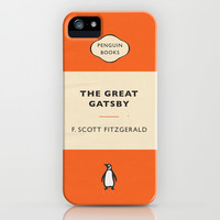 The Great Gatsby by F. Scott Fitzgerald iPhone & iPod Case by Niclas Boman