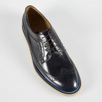 Paul Smith Men's Shoes | Navy Leather Grand Brogues