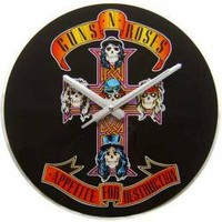 ROCKWORLDEAST - Guns N Roses, Clock, Appetite For Destruction