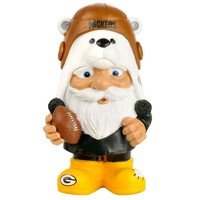 Green Bay Packers NFL Mad Hatter Gnome