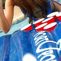 Inflatable Beer Pong Raft Table