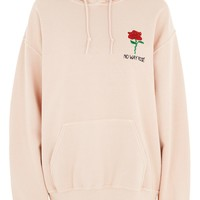 TALL No Way Rosé Hoodie by Tee & Cake | Topshop