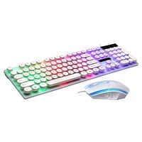 OMESHIN Keyboard mouse game office keyboard mouse ergonomic design