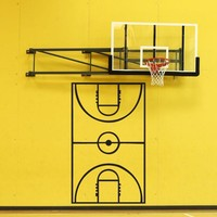 Basketball Coach Play Board Vinyl Wall Decal Sticker. #1320
