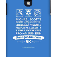 Michael Scott iPhone, iPad Mini or Galaxy Case - The Office Dunder Mifflin Season 4 Episodes 1-2 Rabies Awareness Fun Run Race for the Cure