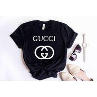 Fashion T-Shirt,Designer Shirt,Paris shirt,t-shirt,Gucci logo shirt