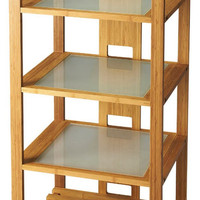 Ivanhoe Modern Bookcase Natural Wood