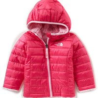 The North Face Baby Girls 3-24 Months Reversible Mossbud Swirl Hoodie Jacket | Dillards