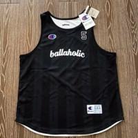 Champion x ballaholic, both male and female, wears a basketball vest on both sides