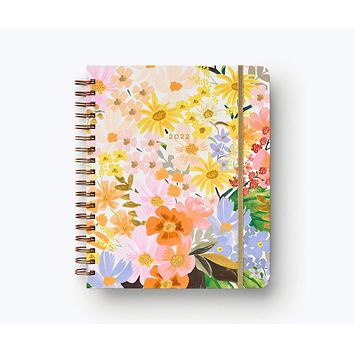 2022 Marguerite Rifle Paper Co. 17-Month Hardcover Spiral Planner