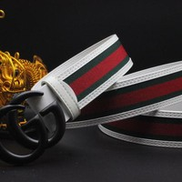 Gucci Belt Men Women Fashion Belts 504158