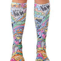 World of Color Knee High Socks
