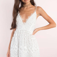 Lace All Around Skater Dress