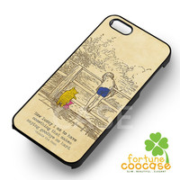 Winnie The pooh quotes christopher robin - zzDzz for  iPhone 6S case, iPhone 5s case, iPhone 6 case, iPhone 4S, Samsung S6 Edge