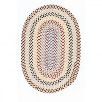 Colonial Mills Boston Common Harbour Lites Braided Rug - BC82 - Wool Rugs - Area Rugs by Material - Area Rugs