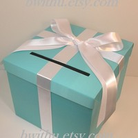 Wedding Money Card Box HolderCustomize/made to order by bwithu