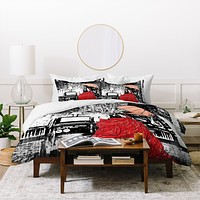 Amy Smith Going Home Duvet Cover