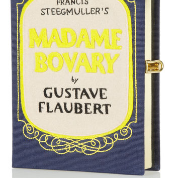 Olympia Le-Tan|Madame Bovary embroidered clutch|NET-A-PORTER.COM
