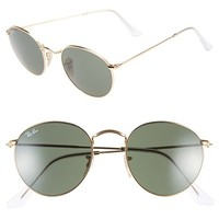 Women's Ray-Ban 50mm Rounded Sunglasses