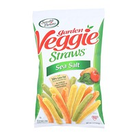Sensible Portions Garden Veggie Straws - Sea Salt - Case Of 12 - 5 Oz.
