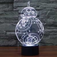Baby Colorful Multi-color LED 3D New Arrival Illusion Starwars Lights = 5826241025