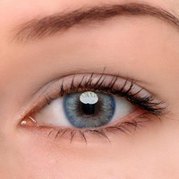 EyeDream® Eye Circle Lens Real Aqua Colored Contact Lenses