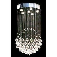 """Modern Contemporary Chandelier """"Rain Drop"""" Chandeliers Lighting with Crystal Balls! H32"""" X W18"""""""
