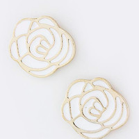 Color Rose Earrings