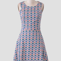 Empress Garden Printed Dress By Tulle