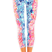 UPF 50+ Luxletic Weekender Cropped Pant | 26833 | Lilly Pulitzer