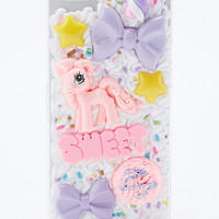 Pony Mix iPhone 5 Case in White - Urban Outfitters