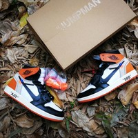 "Off White x Air Jordan 1 ""Shattered Backboard"" Shoe"