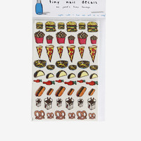 Junk Food Nail Decals