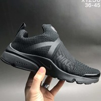 Nike autumn and winter leisure sports trend shoes F-CSXY pure black