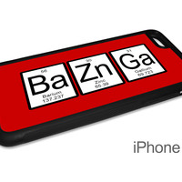 Bazinga Periodic Table of Elements Phone Case for Big Bang Theory Fans