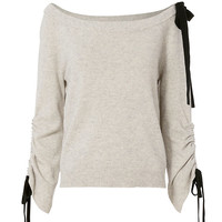 Exclusive for Intermix Lena Off-The-Shoulder Sweater - INTERMIX®