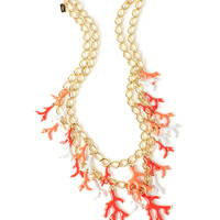 Lilly Pulitzer Good Reef Coral Cluster Necklace