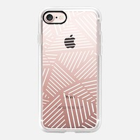 Ab Linear Zoom W Transparent iPhone 7 Case by Project M | Casetify