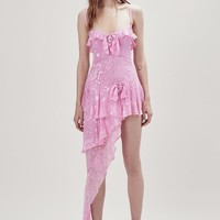 Cosmo Asymmetrical Dress – For Love & Lemons