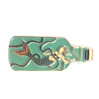 Mermaid In A Bottle Pin