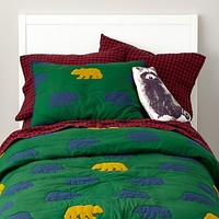 Grizzly Bedding in All Kids Bedding   The Land of Nod
