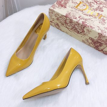 DIOR new pointed single heel height: 9cm