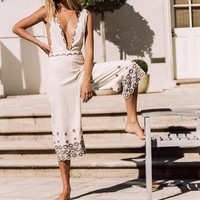 Free People Some Girls Embroidered One Piece