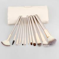 Champagne 12-Piece Essential Brush Collection
